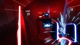 سخت ترین بازی واقعیت مجازی Saber beat