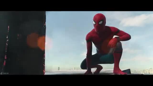 درگیری مرد عنکبوتی توی فری Spider Man Homecoming 2017 نماشا