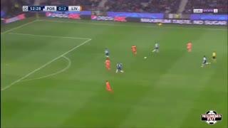 خلاصه فوتبال پورتو 0-5 لیورپول