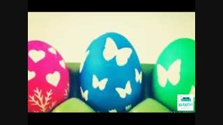 چند ایده جالب برای تزئین تخم مرغ