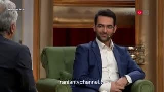 گفتگوی مهران مدیری با محمدجواد آذری جهرمی وزیر ارتباطات در برنامه دورهمی