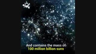 نقشۀ  ۱۰۰ هزار کهکشان