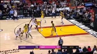 خلاصه بازی Los Angeles Lakers vs Miami Heat