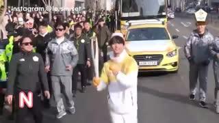 leo عضو گروه vixx برای المپیک 2018 کره جنوبی