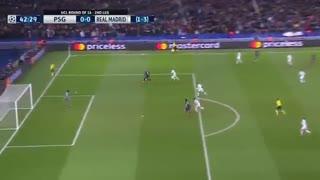 خلاصه فوتبال پاری سن ژرمن 1-2 رئال مادرید