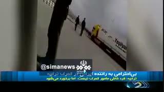 عذرخواهی گمرک ترکیه از مردم ایران و راننده ای که لب مرز کتک خورد