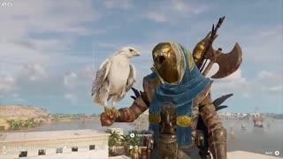 تریلر مربوط به پوسته جدید Senu در بازی Assassin's Creed Origins