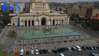میدان جمهوری ارمنستان،قلب شهر ایروان،تور کلیک
