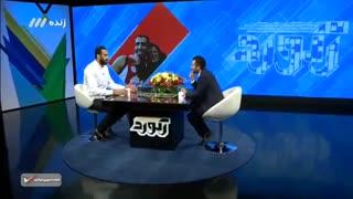 گفتگوی شنیدنی با بهترین بسکتبالیت ایرانی حامد حدادی در برنامه زنده