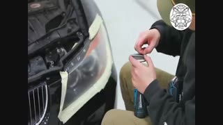 نحوه استفاده از How to Use Turtle Wax Drill-Based Headlight Restorer Kit ترتل