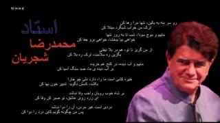 استاد محمدرضا شجریان شعر مولانا