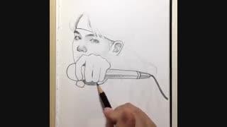 Suga_ Painting...bts
