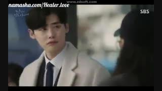 یه سکانس خنده دار از سوزی و لی جونگ سوک در سریال وقتی تو خواب بودی