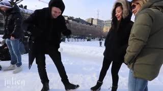 شعبده بازی در سرما