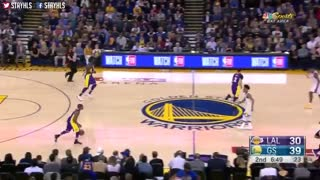 خلاصه بازی Los Angeles Lakers vs Golden State Warriors