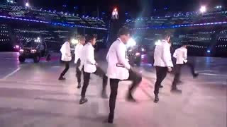 EXO full performance at the winter olympics..از زاویه نزدیک ....از دستش ندین
