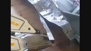 دستگاه تست مخرب نقاط جوش بدنه خودرو درخشش افرنگ