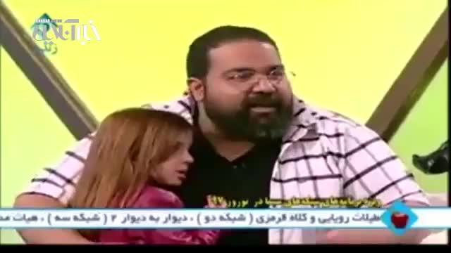 دفاع رضا صادقی از حق خوانندگی زنان در آنتن زنده تلویزیون