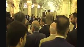 دیدار معاون اول رئیس جمهور از صحن حضرت زهرا(س)