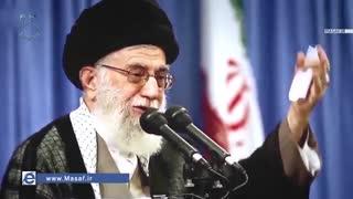 رهبر انقلاب:خدا با ملت ایران است