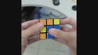 حل مکعب روبیک فقط با دو حرکت !