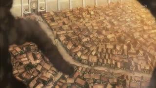 فصل 1 قسمت 2 سریال انیمه اکشن ترسناک « 2013» Attack on Titan «مبارزه با تایتان ها» با زیرنویس چسبیده فارسی