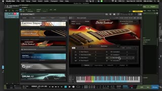 Native Instruments Session Guitarist Electric Sunburst KONTAKT