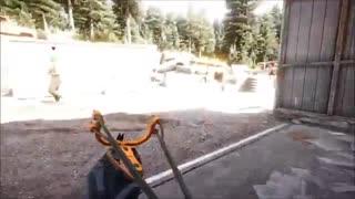 اوج مهارت در بازی Far Cry5 و استفاده از پَلَخمون به عنوان سلاح