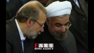 تذکرتند لاریجانی به دولت/ چرا مشاور رئیسجمهور میگوید قیمت دلار باید بالا برود؟