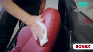 آموزش استفاده از فوم چرم اکستریم سوناکس-گنجی پخش