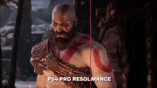 مقایسه کیفیت نسخه جدید God of War در پلی استیشن 4 و پلی استیشن 4 پرو