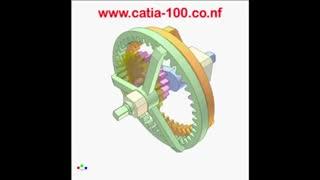 آموزش مکانیزم چرخ دنده داخلی