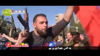 واکنش سوریها به حمله آمریکا و همپیمانانش به خاک سوریه