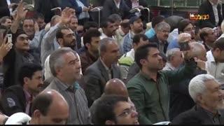 حال و هوای بارگاه امام رضا(ع) در عید مبعث