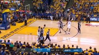 خلاصه بازی Golden State Warriors vs San Antonio Spurs