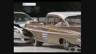 تفاوت ایمنی خودرو شورلت پس از پنجاه سال