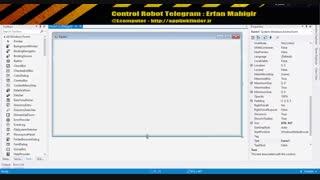 کنترل ربات تلگرام - قسمت اول