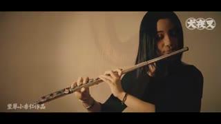"ویدیویی از یکی از آهنگهای غمناک انیمه اینویاشا توسط :""Đàn hạc-Kèn Flute - Aika (Sad Song - Inuyasha OST ) by Tieu Hạnh Nhan 小杏仁"""