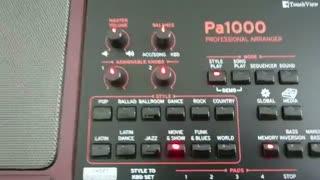 جعبه گشایی و معرفی کیبورد KORG Pa1000