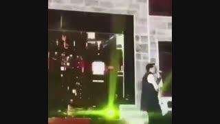 حمید هیراد در اولین کنسرت خود فالش خواند