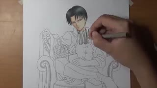 Speed Drawing - Levi Ackerman (Attack on Titan 2)
