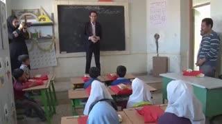 توضیع سبد کالا بین نیازمندان شهرستان طبس