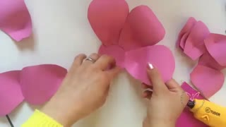 Solis_Arts : آموزش ساخت گل کاغذی