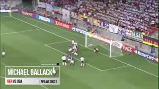 گل میشاییل بالاک به آمریکا در جام جهانی 2002
