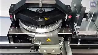 دستگاه پلاک زنی تمام اتوماتیک  برای صدور دو نوع  پلاک ماشین به طور هم زمان Automatic Embossing Machine  درخشش افرنگ