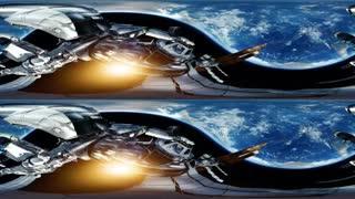 زیباترین کلیپ 360 درجه از درون و بیرون ایستگاه فضایی بین المللی