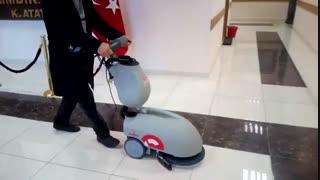 اسکرابر شارژی -دستگاه زمینشو_ کف شوی باتری دار جدید