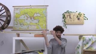 دستگاه پیچیده اصلاح مو برای تنبل ها