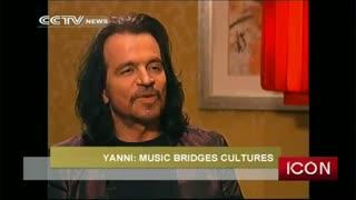مصاحبه تلویزیونی با یانی