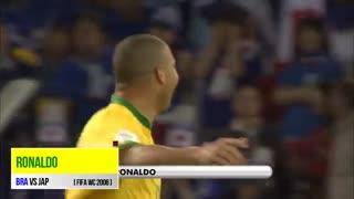 گل رونالدو به ژاپن در جام جهانی 2006